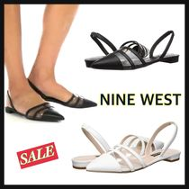 SALE【NINE WEST】 Available★クリアフラットシューズ