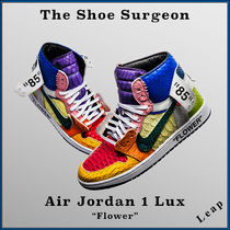"【The Shoe Surgeon】激レア Air Jordan 1 Lux ""Flower"""