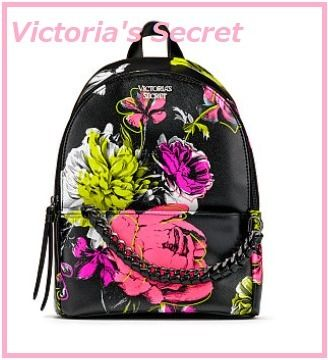 Victoria's Secret バックパック・リュック 日本未入荷 Victoria's Secret  Flower Small Backpack