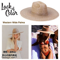 【Lack of Color】AU発★Western Wide Palma ハット