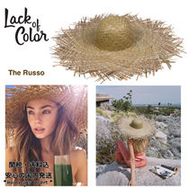 【Lack of Color】AU発★The Russo つば広 ハット