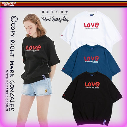 ROMANTIC CROWN Tシャツ・カットソー 【ROMANTIC CROWN】19SS WITH LOVE Pocket T Shirts/追跡付