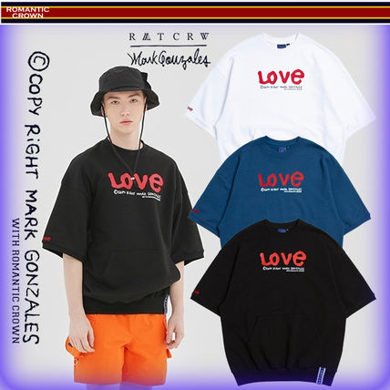 ROMANTIC CROWN Tシャツ・カットソー 【ROMANTIC CROWN】19SS WITH LOVE Pocket T Shirts/追跡付(20)