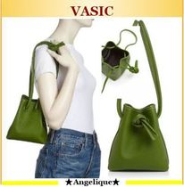 VASIC★BOND**Mini Mini Leather Bucket Bag大人気!