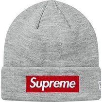 【特価!18AW】Supreme×New Era Box Logo Beanie