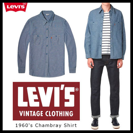 即発送料込 Levi's Vintage Clothing 1960's Chambray Shit