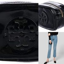 【国内発 Tory Burch 送料込】Patent Leather Cosmetic Bag
