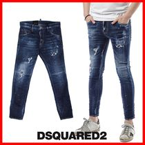 ★関税負担★人気★【DSQUARED2】★DISTRESSED SKNNY JEAN★