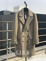 TOM FORD★DOUBLE BREASTED WOOL-CASHMERE COAT ロング コート