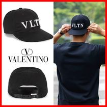 ★関税負担★人気★【VALENTINO】★VLTN BALL CAP★BLACK★