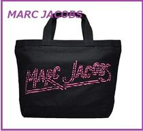 Marc Jacobs マークジェイコブス ロゴ入り BLACK TOTE