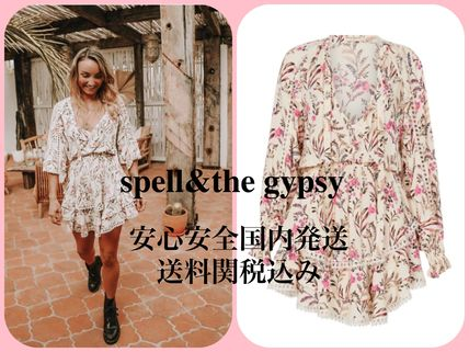 SPELL ワンピース SPELL & THE GYPSY COLLECTIVE ♡ドレス 花柄