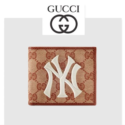 GUCCI★Portefeuille Original GG NY Yankees★財布