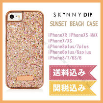 SKINNY DIP iPhone ケース SUNSET BEACH CASE