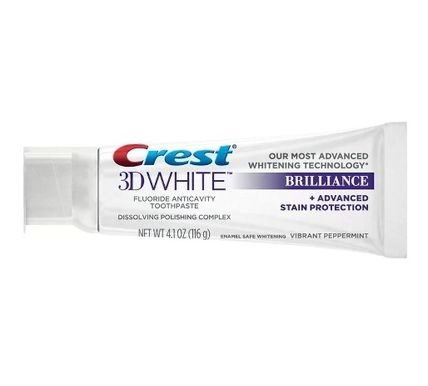 Crest ホワイトニング 2箱♪ Crest 3D White Brilliance + Advanced Stain Protection(3)