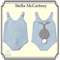 Stella McCartney☆Blue Bunny Print ベイビーボディスーツ