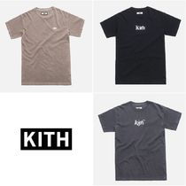 KITH NYC(キスニューヨークシティ) Tシャツ・カットソー 日本未発売!【KITH】PIGMENT DYED CLASSIC LOGO TEE
