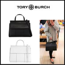【TORY BURCH】 BLOCK-T SATCHEL