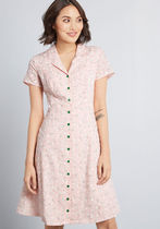 Daytime Dynamo Shirt Dress