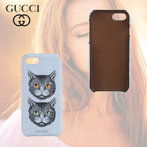 ≪GUCCI≫iPhone8 ケース ☆キャットプリント