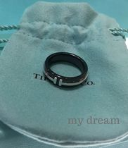 【Tiffany & Co】TIFFANY T Two Ring in Titanium