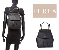 [関税・送料込]FURLA☆Onyx Anita Leather Backpack