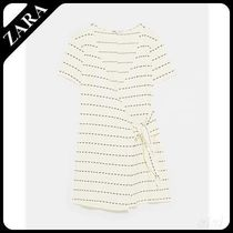 ★ZARA TRF★  TEXTURED PLAYSUIT