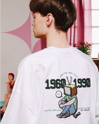 WV PROJECT Tシャツ・カットソー ★WV PROJECT★Channel short-sleeve  TEE★6色★Tシャツ(8)