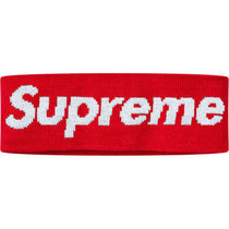 【人気コラボ!】18AW Supreme×New Era Big Logo Headband