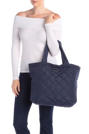 【Marc Jacobs】軽い!Quilted Nylon ナイロン トート ネイビー