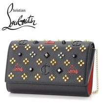 6949e58e62 18AW☆Christian Louboutin☆PALOMA CLUTCH 2wayクラッチBLACK♪