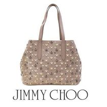 18春夏☆JIMMY CHOO☆ SOFIA Medium トート MUSK/METALLIC MIX♪