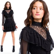 Alice + Olivia★ CLEA TIERED LACE ワンピ ドレス 関税送料込