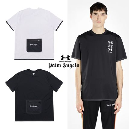 [PALM ANGELS] Under Armour Basic T-Shirt Tシャツ