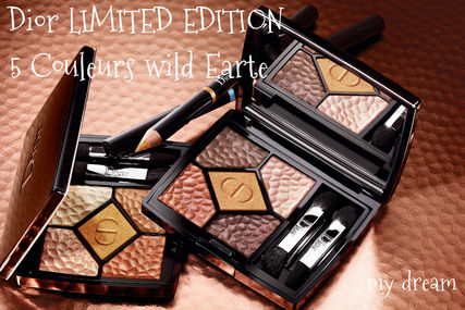 限定♪Dior★5 COULEURS WILD EARTH (786,696)