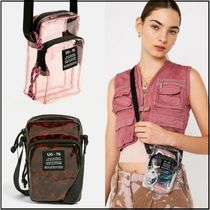 *URBAN OUTFITTERS* クリアバック 全3色 ビニール ポシェット