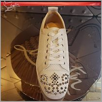 ◆Christian Louboutin 19SS◆Savilouis Junior Men's Flat◆WHT