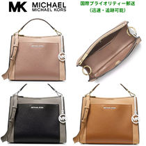 マイケルコース Gemma Medium Colorblock Pocket Satchel2WAY