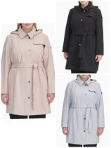 PLUS SIZE ( NEW / 日本未上陸) SOFT SHELL TRENCH COAT