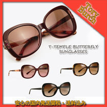 TORY BURCH☆T-TEMPLE BUTTERFLY SUNGLASSES 関税送料込国内発送