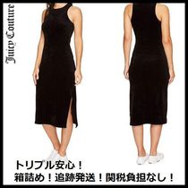 追跡発送☆Juicy Coutureベロア生地 Fitted Tank Dress