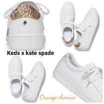 Keds x kate spadeコラボ★ACE LEATHER GLITTER