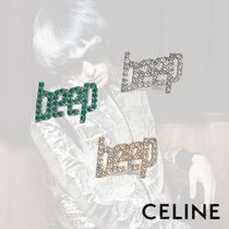 CELINE クリスチャン・マークレー ピン ブローチ 3色展開 クール
