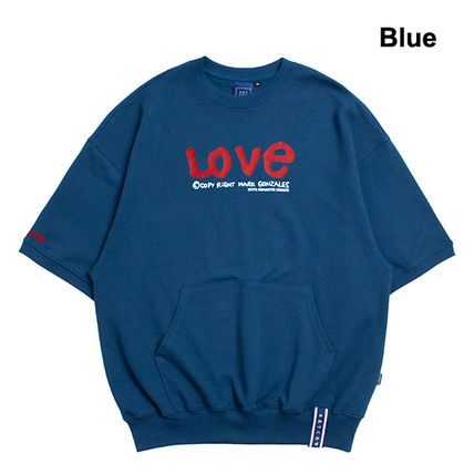 ROMANTIC CROWN Tシャツ・カットソー 【ROMANTIC CROWN】WITH LOVE Pocket T Shirts★NEW★日本未入荷(4)