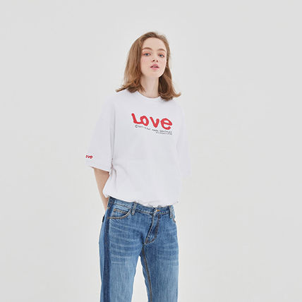 ROMANTIC CROWN Tシャツ・カットソー 【ROMANTIC CROWN】WITH LOVE Pocket T Shirts★NEW★日本未入荷(12)