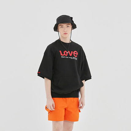 ROMANTIC CROWN Tシャツ・カットソー 【ROMANTIC CROWN】WITH LOVE Pocket T Shirts★NEW★日本未入荷(17)