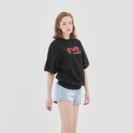 ROMANTIC CROWN Tシャツ・カットソー 【ROMANTIC CROWN】WITH LOVE Pocket T Shirts★NEW★日本未入荷(19)