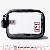 HAVE A GOOD TIME★韓国★PVC Pouch - CLEARポーチ