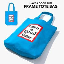 have a good time(ハブアグットタイム) トートバッグ HAVE A GOOD TIME★韓国★ Frame Tote Bag フレームロゴバッグ