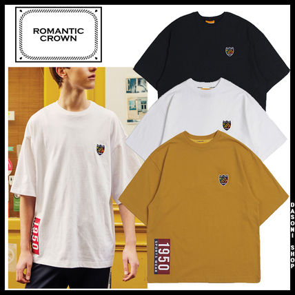 ROMANTIC CROWN Tシャツ・カットソー ★ROMANTIC CROWN★HEAD BY RMTC 1950 T Shirt半袖Tシャツ 3色